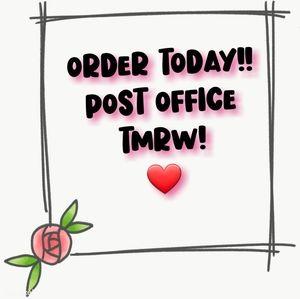 Post Office Drop!!